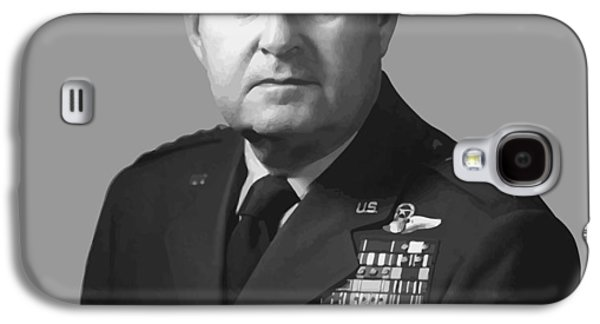 4th July Galaxy S4 Cases - General Curtis Lemay Galaxy S4 Case by War Is Hell Store