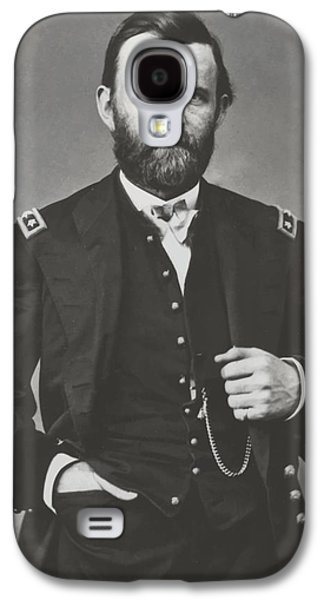 Landmarks Photographs Galaxy S4 Cases - General Grant During The Civil War Galaxy S4 Case by War Is Hell Store