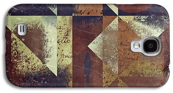 Abstract Galaxy S4 Cases - Geomix 04 - 6ac8bv2t7c Galaxy S4 Case by Variance Collections
