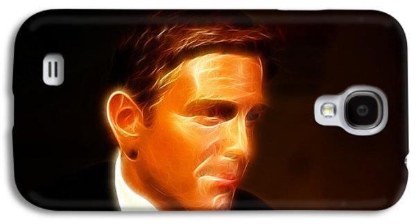 George Clooney - Creative Art - Fantasy Art Galaxy S4 Case by Lee Dos Santos