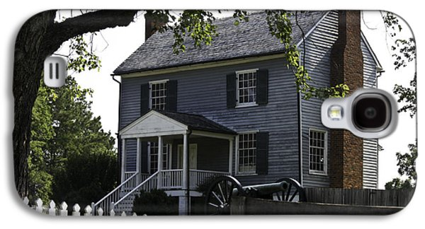 Frame House Galaxy S4 Cases - George Peers House Appomattox Virginia Galaxy S4 Case by Teresa Mucha