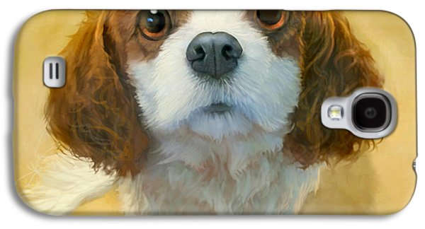 Pet Digital Art Galaxy S4 Cases - Georgia Galaxy S4 Case by Sean ODaniels