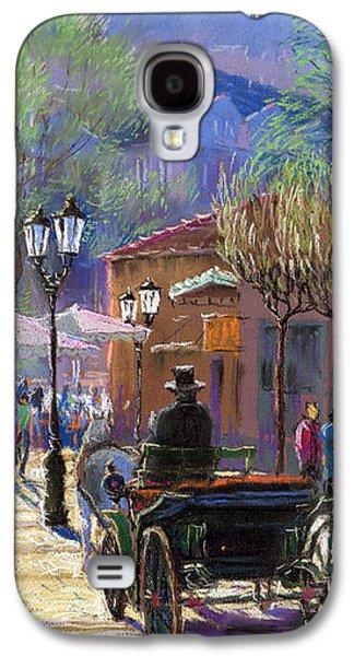 Light Pastels Galaxy S4 Cases - Germany Baden-Baden Spring  Ray Galaxy S4 Case by Yuriy  Shevchuk