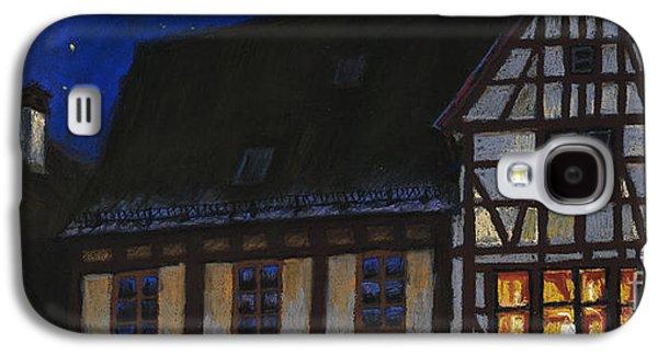 Light Pastels Galaxy S4 Cases - Germany Ulm Fischer Viertel MoonRoofs Galaxy S4 Case by Yuriy  Shevchuk