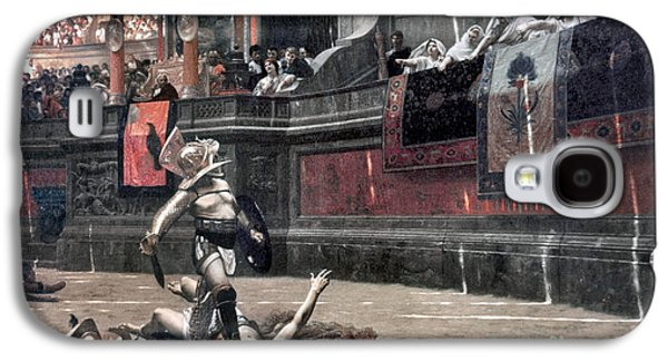 Gerome Galaxy S4 Cases - Gerome: Gladiators, 1874 Galaxy S4 Case by Granger