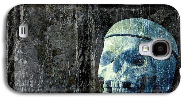 Ghost Skull Galaxy S4 Case by Edward Fielding