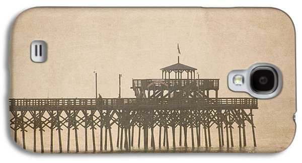 Beach Landscape Galaxy S4 Cases - Ghostly Pier Galaxy S4 Case by Bob and Nancy Kendrick