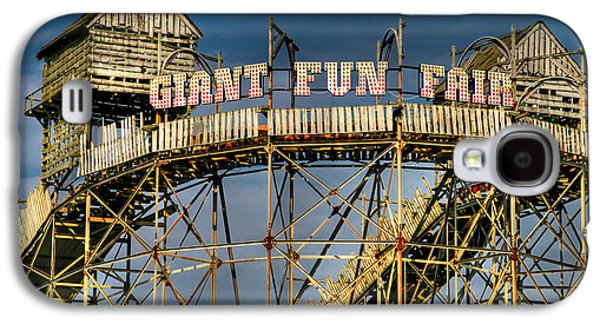 Joints Galaxy S4 Cases - Giant Fun Fair Galaxy S4 Case by Adrian Evans