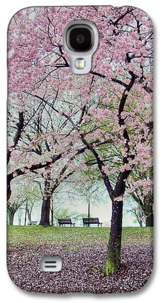 Cherry Tree Galaxy S4 Cases - Gifts Galaxy S4 Case by Mitch Cat