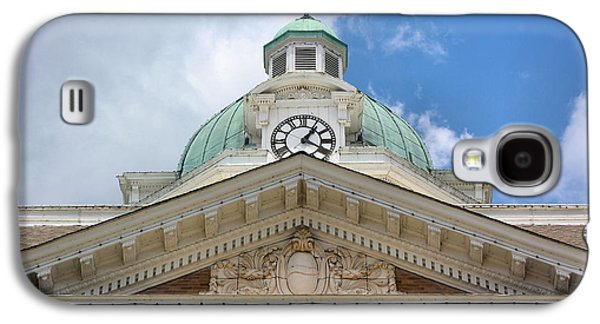 Weathervane Galaxy S4 Cases - Giles County Courthouse Details Galaxy S4 Case by Kristin Elmquist
