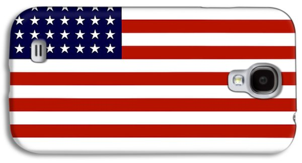 Americans Digital Art Galaxy S4 Cases - Give It Your Best American Flag Galaxy S4 Case by War Is Hell Store