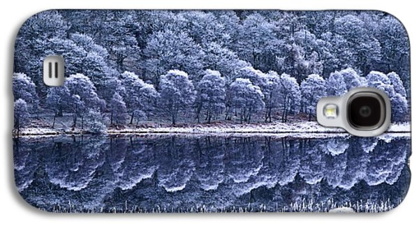 Trees Reflecting In Water Galaxy S4 Cases - Glendalough National Park, County Galaxy S4 Case by Richard Cummins