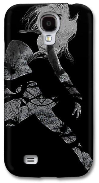 Dancing Girl Galaxy S4 Cases - Gliding Galaxy S4 Case by Naxart Studio