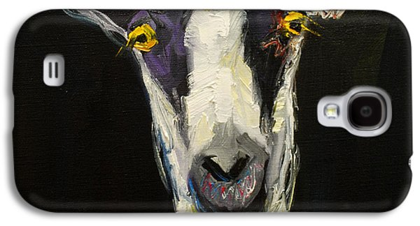 Farm Galaxy S4 Cases - Goat Gloat Galaxy S4 Case by Diane Whitehead