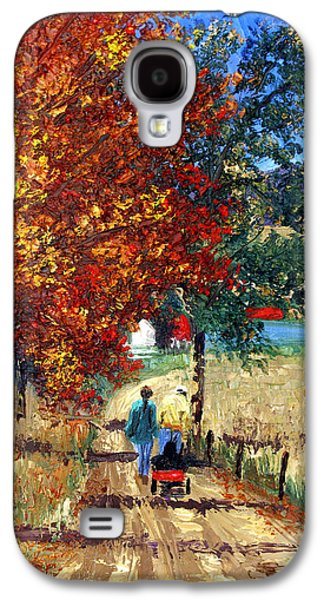 Landscape Acrylic Prints Digital Art Galaxy S4 Cases - Going Home Galaxy S4 Case by Anthony Falbo