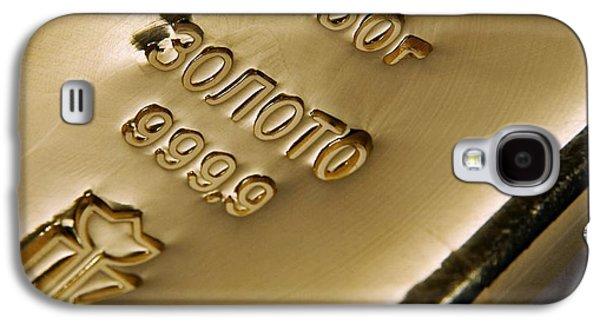 Gold Bullion Galaxy S4 Case by Ria Novosti