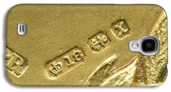 Gold Hallmarks, 1897 Galaxy S4 Case by Sheila Terry