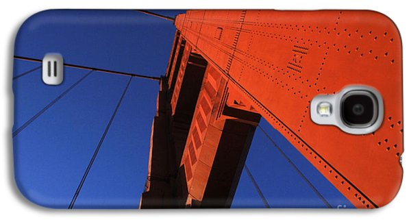 San Francisco Famous Photographers Galaxy S4 Cases - Golden Gate Bridge Detail Galaxy S4 Case by Bob Christopher