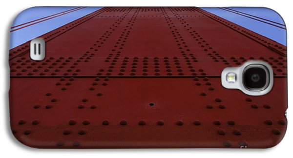 San Francisco Famous Photographers Galaxy S4 Cases - Golden Gate Bridge Vertical Galaxy S4 Case by Bob Christopher