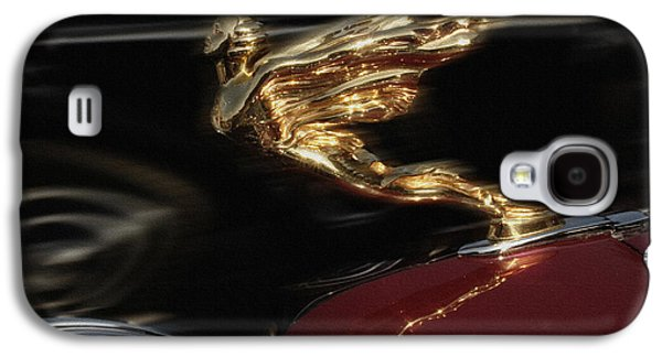 First Lady Digital Galaxy S4 Cases - Golden Lady Out Front Galaxy S4 Case by Curt Johnson
