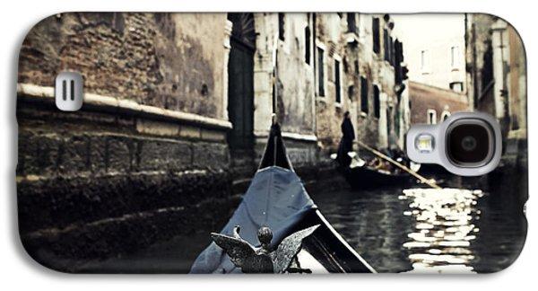 San Marco Galaxy S4 Cases - gondola - Venice Galaxy S4 Case by Joana Kruse
