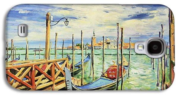 Gondolla Venice Galaxy S4 Case by Conor McGuire