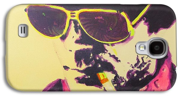 Hunters Galaxy S4 Cases - Gonzo - Hunter S. Thompson Galaxy S4 Case by Eric Dee