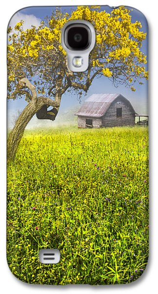 Old House Photographs Galaxy S4 Cases - Good Morning Spring Galaxy S4 Case by Debra and Dave Vanderlaan