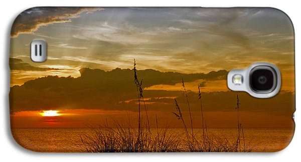 Nature Scene Digital Art Galaxy S4 Cases - Gorgeous Sunset Galaxy S4 Case by Melanie Viola