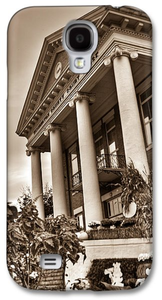 Colum Galaxy S4 Cases - Governmental House Jonesboro Galaxy S4 Case by Douglas Barnett