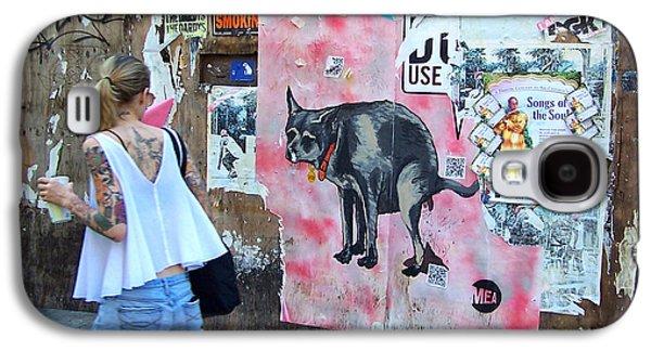 East Village Galaxy S4 Cases - Graffiti Galaxy S4 Case by Steven Huszar