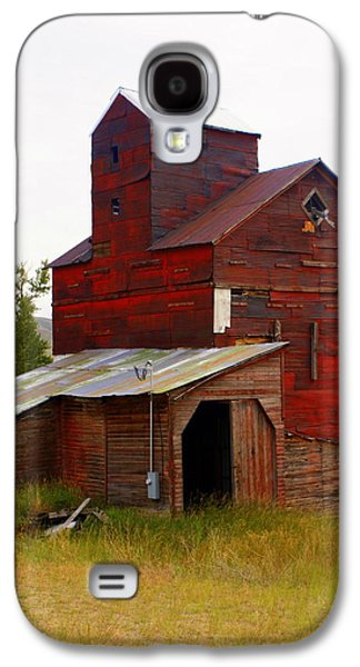 Marty Koch Galaxy S4 Cases - Grain Elevator Galaxy S4 Case by Marty Koch