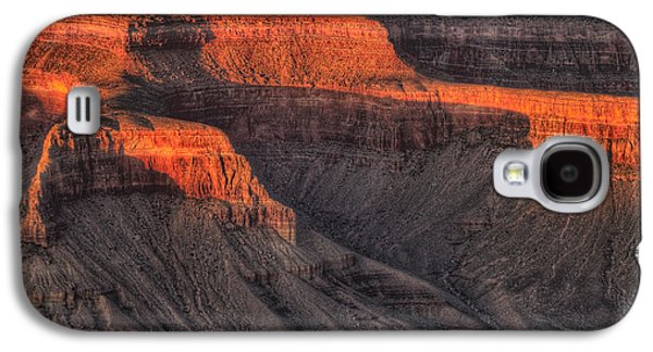 Grand Canyon Photographs Galaxy S4 Cases - Grand Canyon Light Galaxy S4 Case by Steve Gadomski