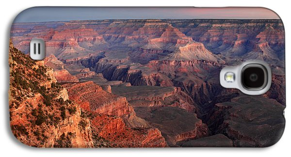 Grand Canyon Photographs Galaxy S4 Cases - Grand Canyon Sunrise Galaxy S4 Case by Pierre Leclerc Photography
