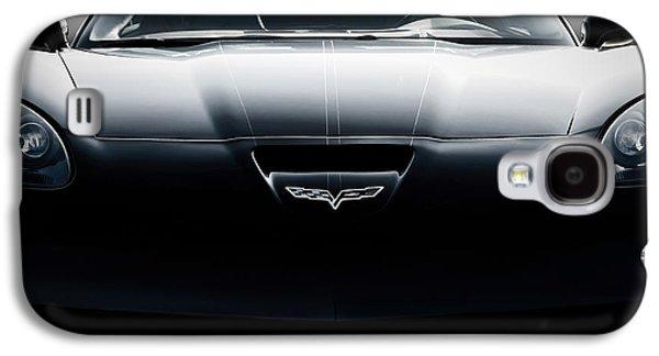Black Digital Art Galaxy S4 Cases - Grand Sport Corvette Galaxy S4 Case by Douglas Pittman