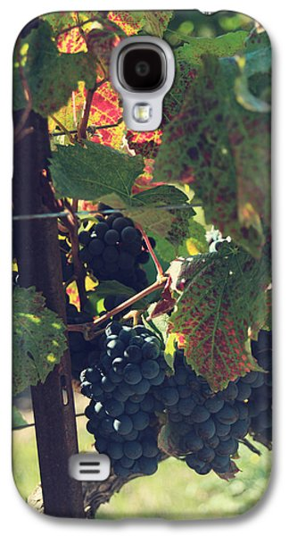 Grape Leaf Galaxy S4 Cases - Grapes Galaxy S4 Case by Laurie Search