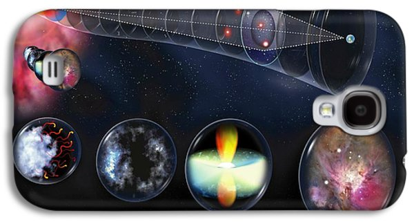 Observer Photographs Galaxy S4 Cases - Gravitational Lens Galaxy S4 Case by Jose Antonio PeÑas