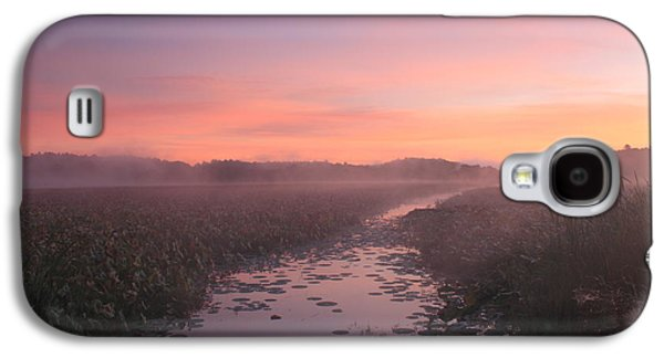Concord Galaxy S4 Cases - Great Meadows National Wildlife Refuge Dawn Galaxy S4 Case by John Burk