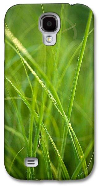 Prairie Galaxy S4 Cases - Green Prairie Grass Galaxy S4 Case by Steve Gadomski