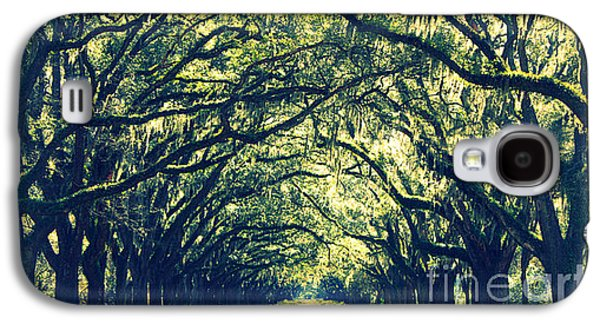 Old Country Roads Photographs Galaxy S4 Cases - Green World Galaxy S4 Case by Carol Groenen