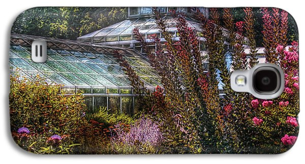 Garden Flowers Galaxy S4 Cases - Greenhouse - The Greenhouse Galaxy S4 Case by Mike Savad