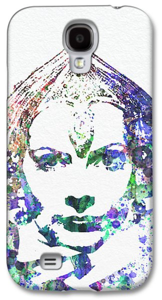 Alone Digital Art Galaxy S4 Cases - Greta Garbo Galaxy S4 Case by Naxart Studio