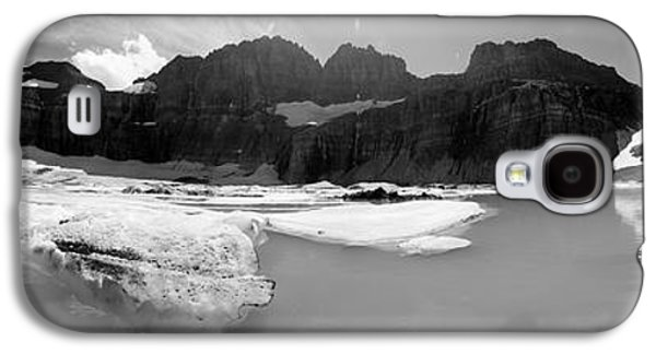 Landscapes Photographs Galaxy S4 Cases - Grinnell Glacier Panorama Galaxy S4 Case by Sebastian Musial