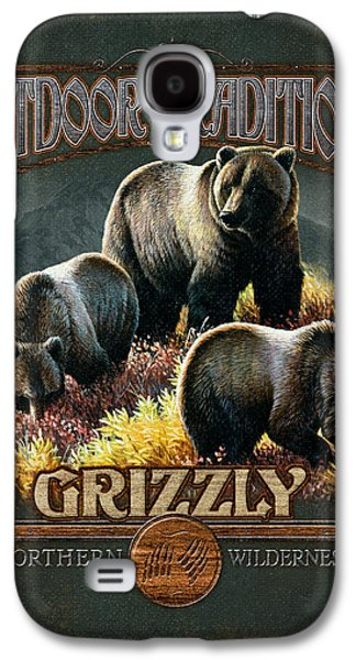 Cynthie Fisher Galaxy S4 Cases - Grizzly Traditions Galaxy S4 Case by JQ Licensing