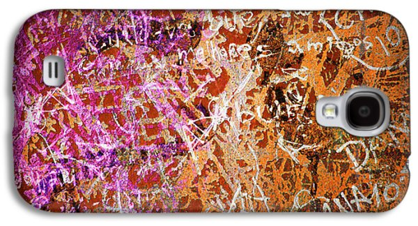 Mess Photographs Galaxy S4 Cases - Grunge Background 3 Galaxy S4 Case by Carlos Caetano
