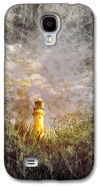 Behind The Scenes Digital Galaxy S4 Cases - Grunge Light House Galaxy S4 Case by Svetlana Sewell