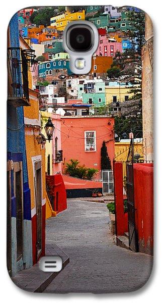 Skip Hunt Galaxy S4 Cases - Guanajuato Lane Galaxy S4 Case by Skip Hunt