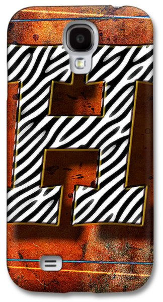 Music Pyrography Galaxy S4 Cases - H Galaxy S4 Case by Mauro Celotti
