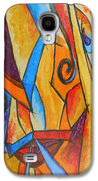 Hammer Paintings Galaxy S4 Cases - Hammer Head Galaxy S4 Case by Bobby Jones