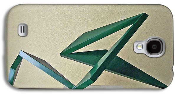 Abstract Landscape Sculptures Galaxy S4 Cases - Hang Ten Galaxy S4 Case by John Neumann